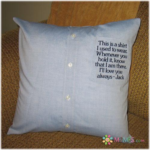 Made2matchfromscratch Keepsakes Shirt Pillows