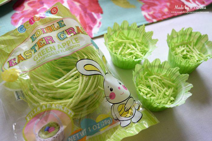 Easy Easter Entertaining Ideas edible grass