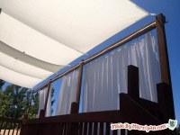 DIY Deck Awning: Made By Marzipan