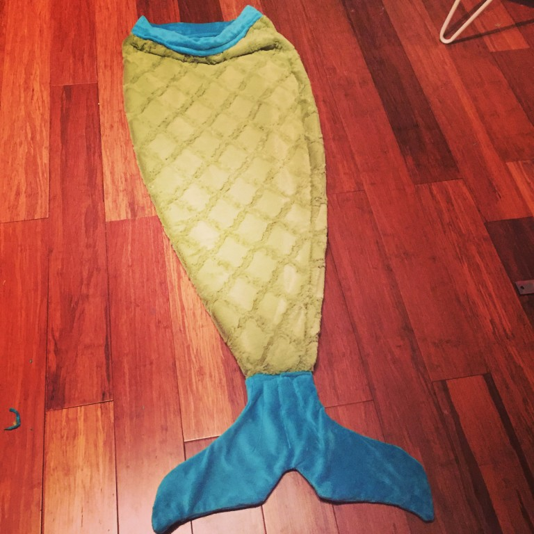 Mermaid Tail Blanket - Made By Marzipan