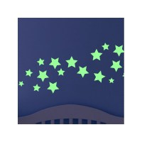 Wall decal simple stars cheap - Stickers Glow In The Dark ...