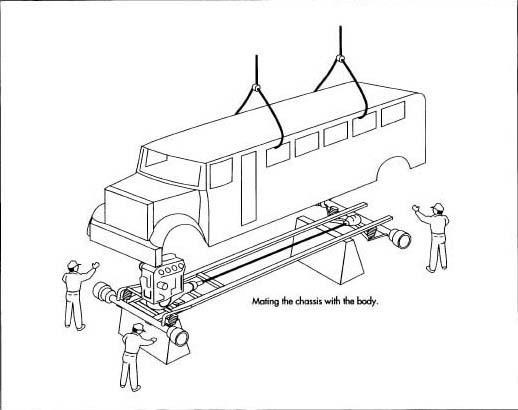 bus suspension parts diagram