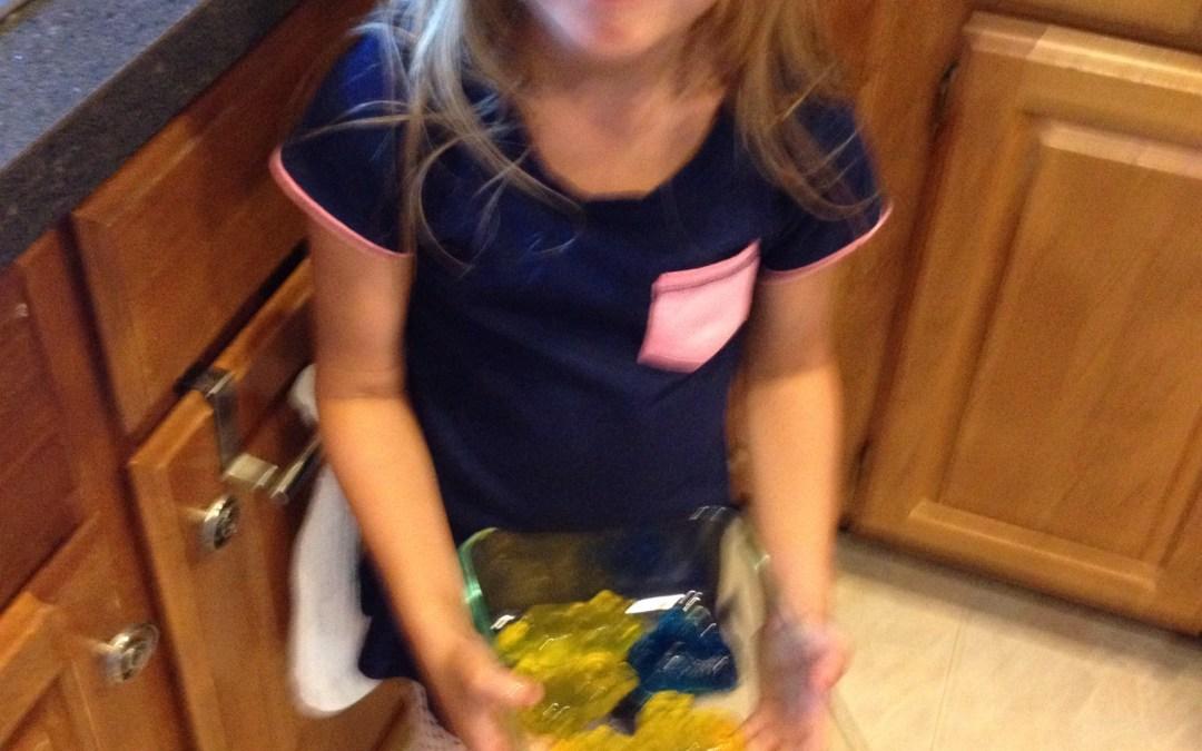 Minion jello molds