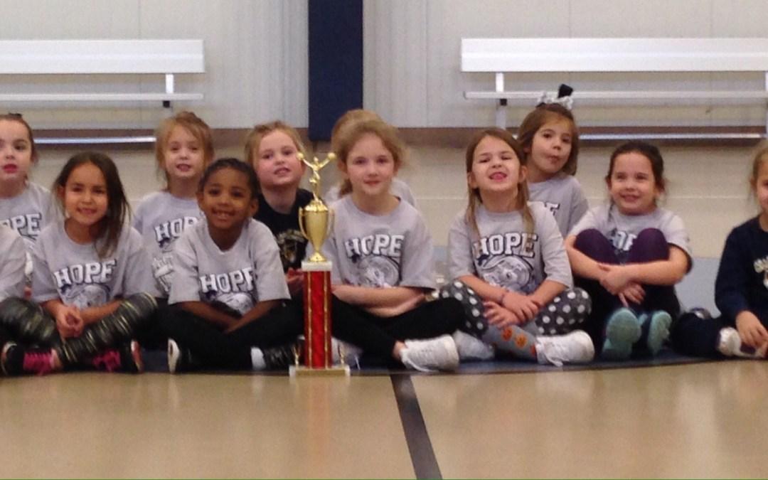 We got a trophy