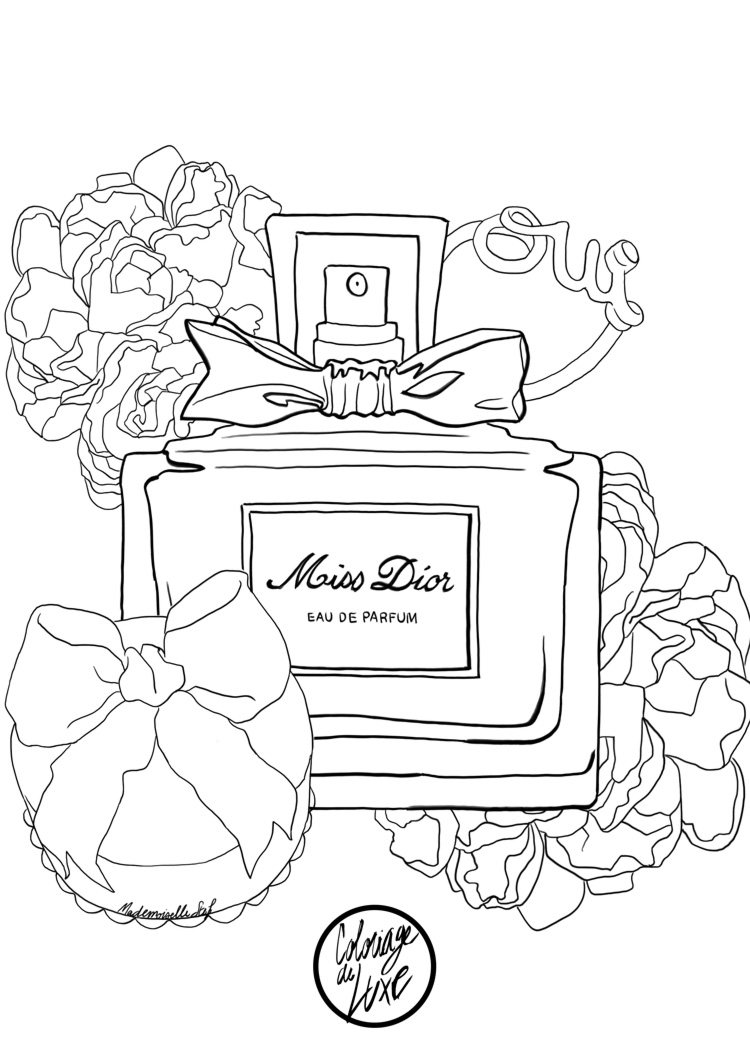 coloriage-mademoiselle-stef-miss-dior-low