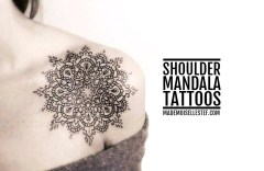 blog tattoo shoulder mandala