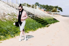 blog mode look pink bombers