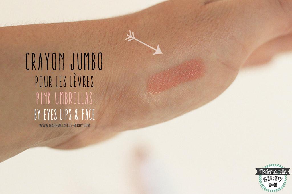 crayon-levres-rouge-a-levres-2-JUMBO-PINK-ELF-eyes-lips-face-avis-blogueuse-beaute-blog-makeup-pinceau-pas-cher