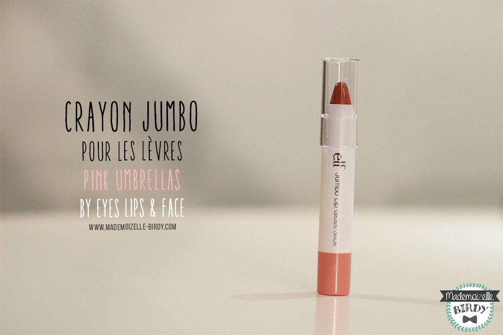 crayon-levres-rouge-a-levres-JUMBO-PINK-ELF-eyes-lips-face-avis-blogueuse-beaute-blog-makeup-pinceau-pas-cher