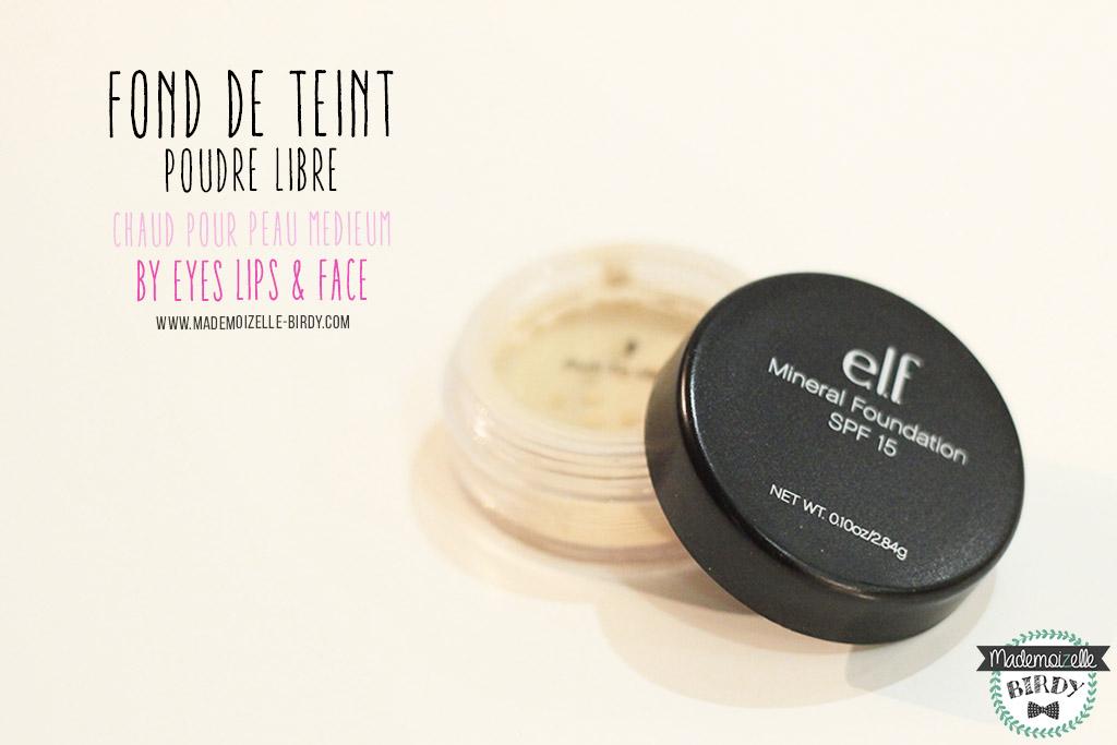 fond-de-teint-mineral-poudre-libre-ELF-eyes-lips-face-avis-blogueuse-beaute-blog-makeup-pinceau-pas-cher