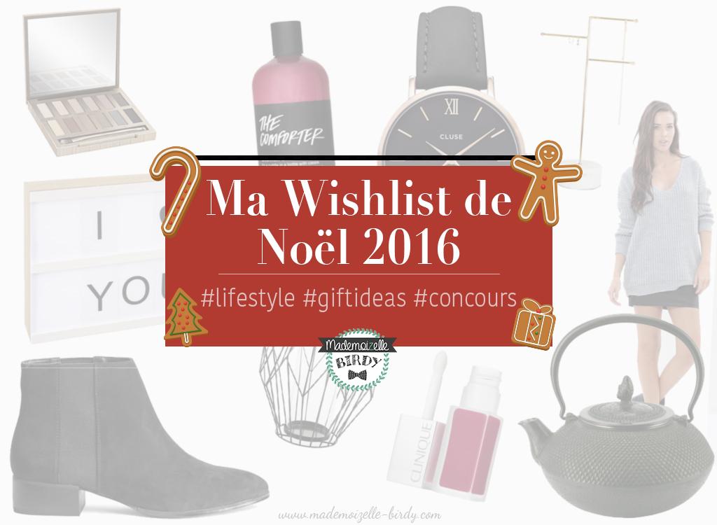wishlist de noël 2016