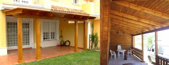 Porches de madera y cenadores de alta gama jardin Pinterest