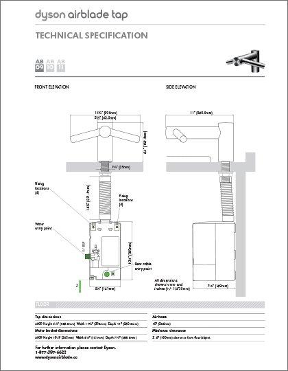 Madero - Airblade Tap