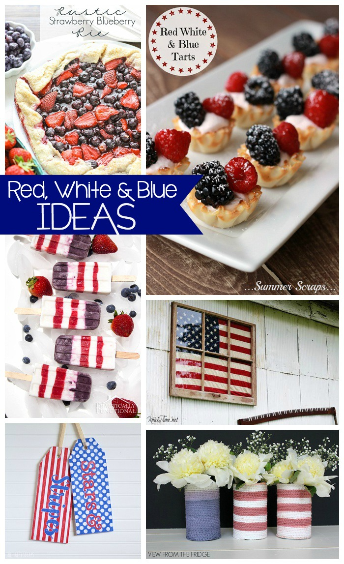 Red, White & Blue Ideas