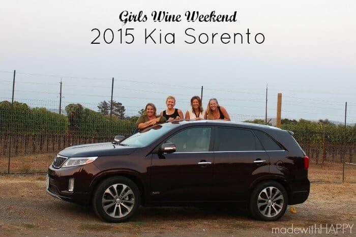 Girls Wine Weekend 2015 Kia Sorento