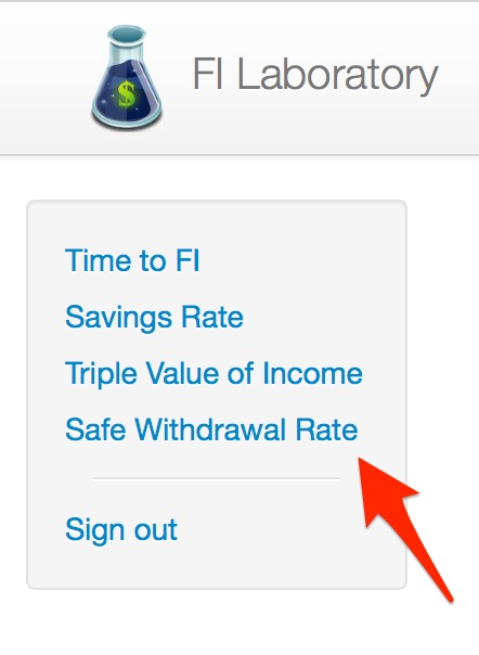 Safe Withdrawal Rate for Early Retirees Mad Fientist - retirement withdrawal calculator