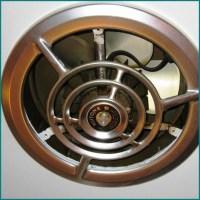 Installing Exhaust Fan Cover  Madison Art Center Design
