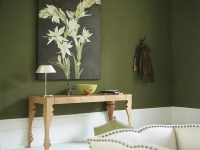 Olive Green Wall Paint Ideas  Madison Art Center Design