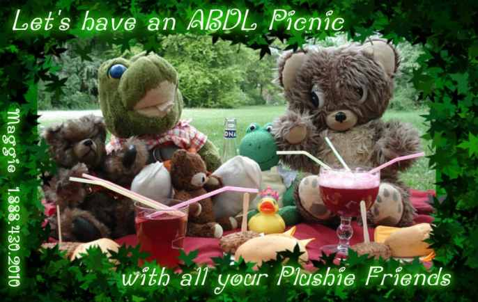 Adult Baby Picnic for Memorial Day Adult Baby Picnic for Memorial Day abdl picnic mommy maggie