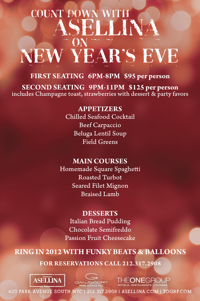 Updated!) New Year\u0027s Eve roundup in the Flatiron and Madison Square
