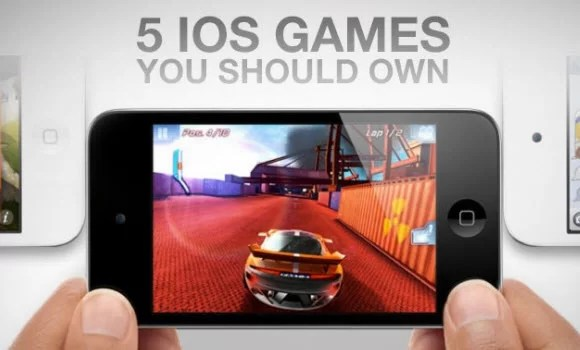 Top 5 Must-Have 2012 iOS Games