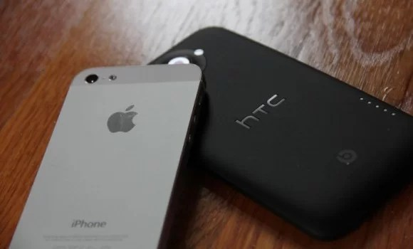 iPhone 5 vs HTC One X
