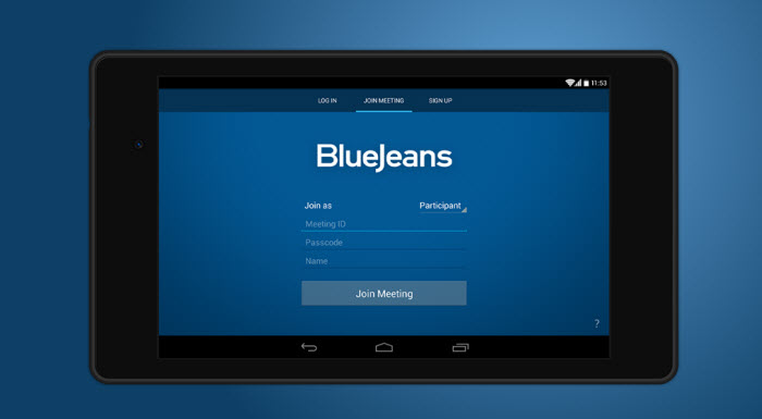 BlueJeans Android Video Conferencing
