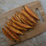 Smokey Sweet Potato Wedges