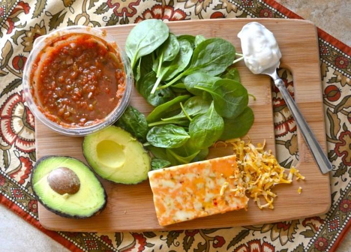 Spinach & Avocado