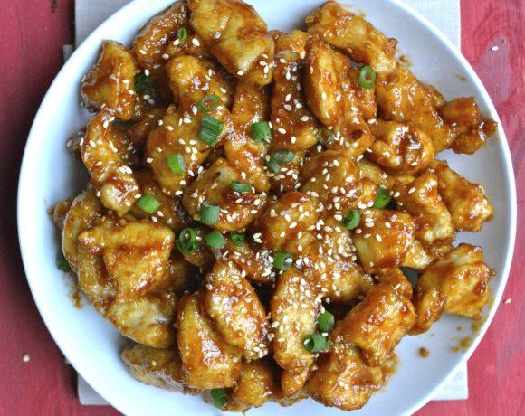 Spicy Kung Pao Chicken {Gluten Free}