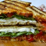 Fresh Tomato, Mozzarella and Basil Panini