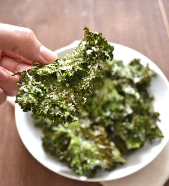 Italian Kale Chips