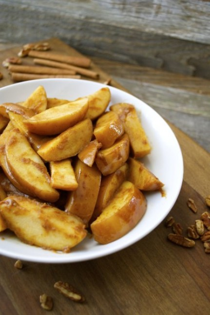 Slow Cooker Pumpkin Spiced Apples