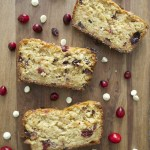 White Chocolate Cranberry Bread