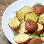 Insanely easy four ingredient Creole Roast Potatoes make the perfect side dish for any meal!