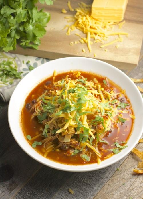 Medium Of Chilis Chicken Enchilada Soup