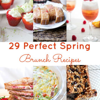 29 Perfect Spring Brunch Ideas