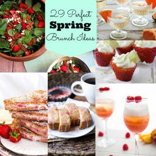 29 Perfect Spring Brunch Recipes! www.maebells.com
