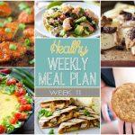 Healthy Meal Plan: Week Eleven
