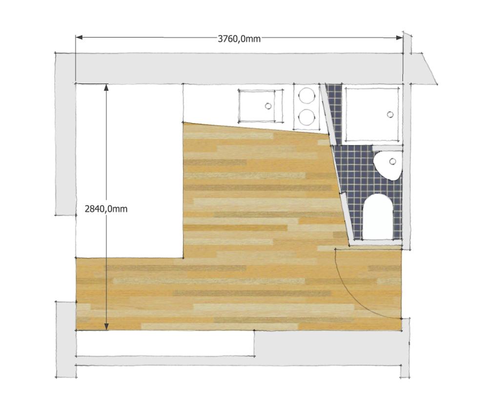 chambre de bonne 10m2 petits espaces pinterest chambre de bonne chambre de et chambres. Black Bedroom Furniture Sets. Home Design Ideas