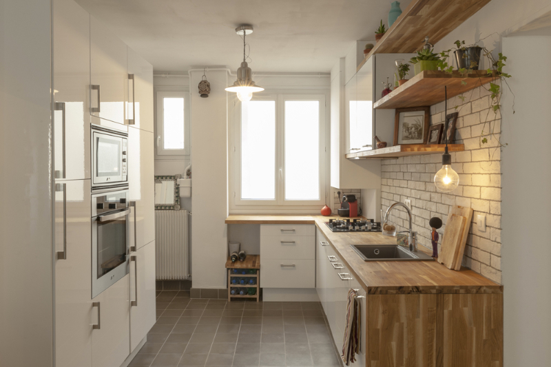 Les cuisines ma ma architectes - Credence ou carrelage cuisine ...