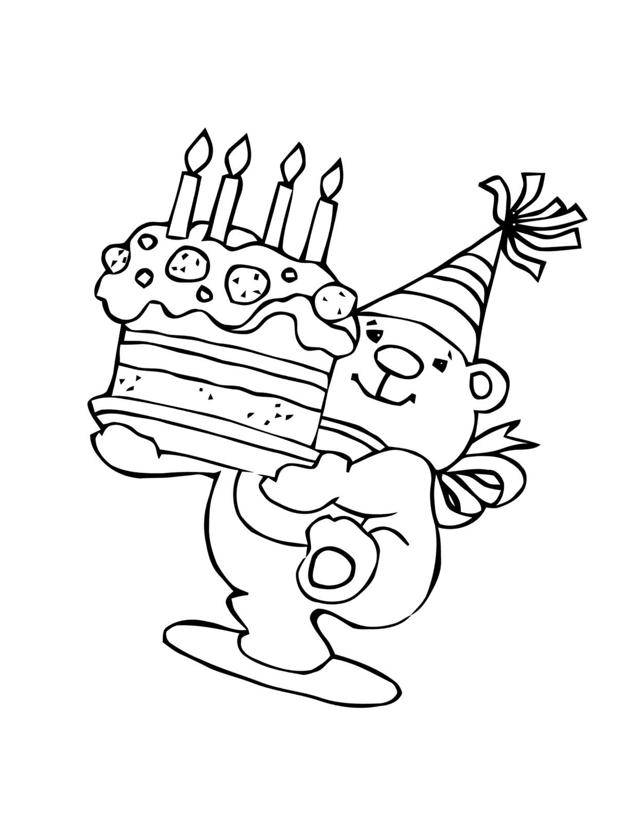 Geburtstag Ausmalbilder Kostenlos Zum Ausdrucken