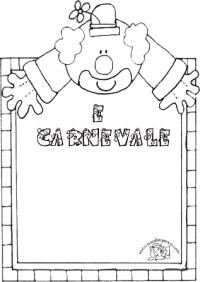 Cornicette Di Carnevale A Quadretti Da Disegnare E