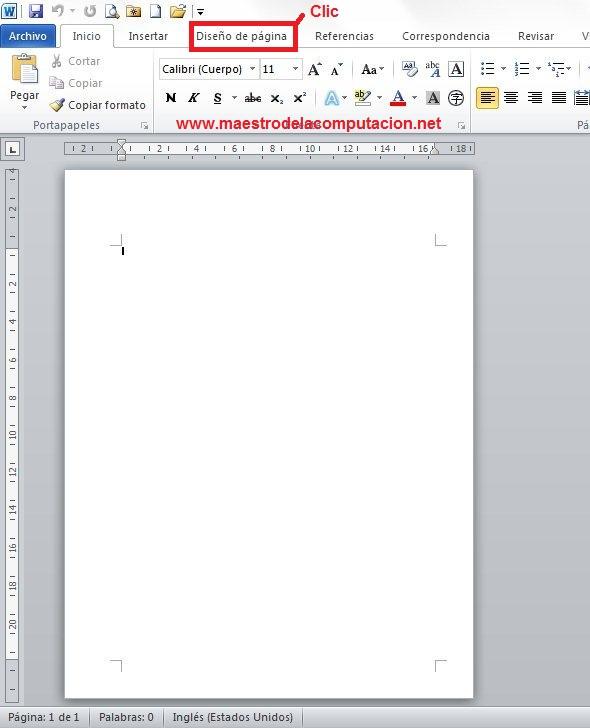 Cómo combinar hojas horizontales y verticales en word