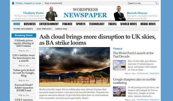 Download Free GABFIRE Themes  Templates, Scripts  Graphics ! - online newspaper template