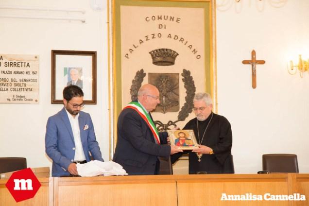 Visita Vescovo Palazzo Adriano-2