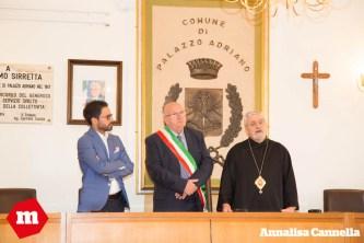 Visita Vescovo Palazzo Adriano