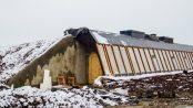 Earthship Tempelhof: Bis zum Frühjahr 2016 soll der Inneausbau abgeschlossen sein.