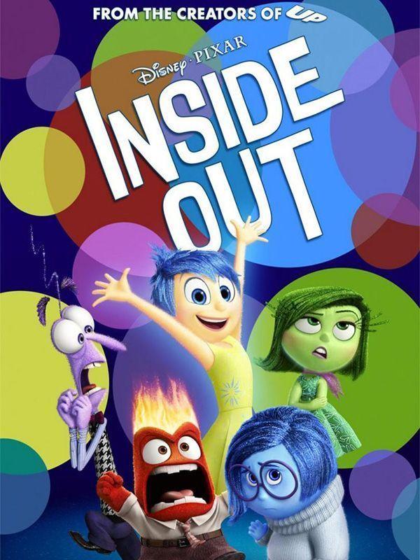 Mejor Película Animada: Del revés (Inside Out)