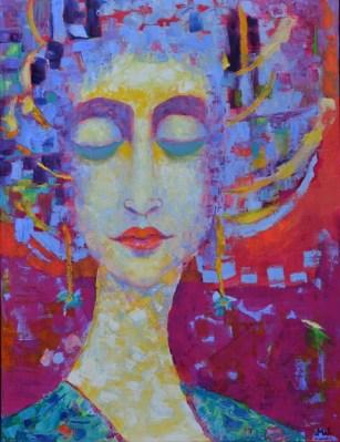 Galeria obrazów Magdalena_Walulik_portret kobiety_technika olej na płótnie_pejzaz_akt_kwiaty